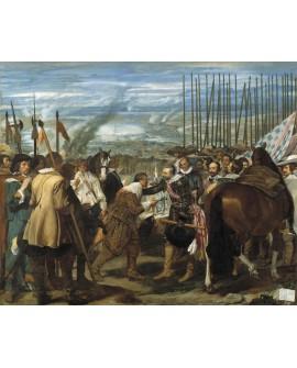 Velazquez cuadro de las lanzas Rendicion de Breda cuadro reproduccion Home