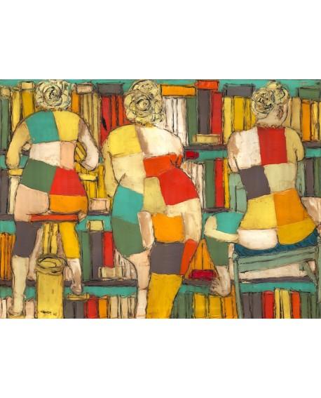 Jose Villanueva Desnudos Femeninos en tiempo libre. Abstracto Home