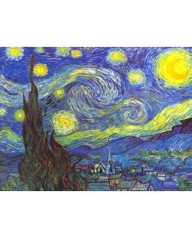 van gogh noche estrellada cuadro mural reproduccion Impresionista Home