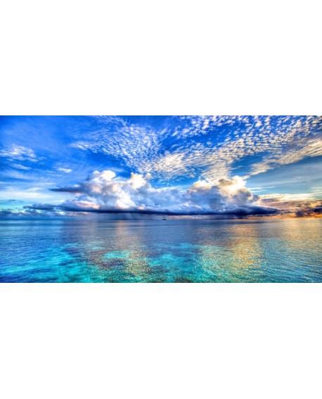 Mar de Corales del Pacifico Fotografia Paisaje Panoramico Cuadros Horizontales