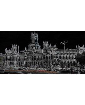 Martha Ulloa Ayuntamiento de Madrid Panoramico Pop Art Español Cuadros Horizontales