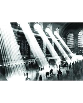 Cuadro de  fotografia de la  Estacion Central Ferrocarriles de New York