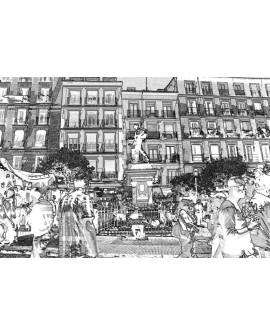 Martha Ulloa Plaza de Cascorro Rastro de Madrid Diseño Pop Art