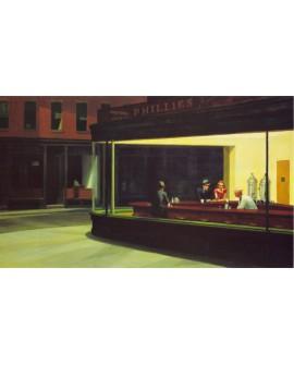 Edward Hopper Noctambulos Halcones de la Noche Cuadro mural Cuadros Horizontales