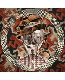 Tony Polonio Mandala Homenaje Escher 1 Perspectivas Imposibles