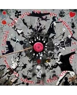 Tony polonio Mandala Recopilatoria Homenaje a Banksy en Mural Home
