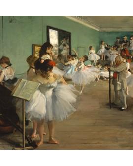 Edgar Degas Las niñas en el ballet clase de baile reproduccion Giclee Home