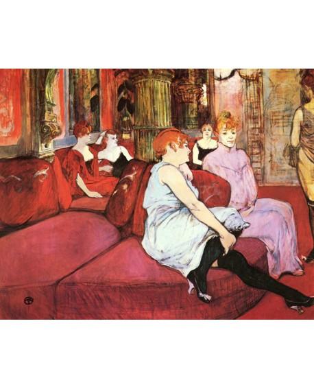 Henri Toulouse Lautrec El burdel y señoritas Impresionista Pintura Giclee Home