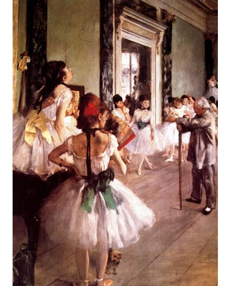 Edgar Degas La clase de danza Ballet Cuadro Impresionista Figurativo Home