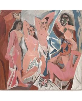 Picasso Arte Cubista Las Señoritas de Avignon Reproduccion Home