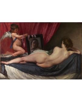 Diego de Velazquez La Venus ante el espejo Clasico Español Giclee Cuadros Horizontales