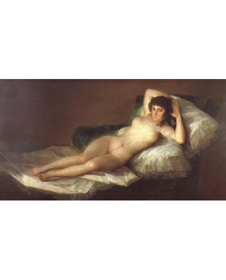 Goya La Maja Desnuda El Prado Reproduccion Duquesa de Alba Pintura Giclee Cuadros Horizontales
