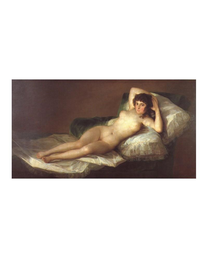 Goya La Maja Desnuda El Prado Reproduccion Duquesa De Alba Pintura Giclee