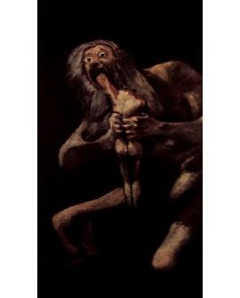 Francisco de Goya Saturno Devorando a sus hijos Reproduccion Home