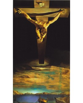 Salvador Dali El Cristo vertical Arte Abstracto Surrealista Reproduccion Home
