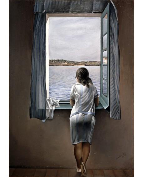 Salvador Dali La muchacha de la ventana Reproduccion Surrealismo Home