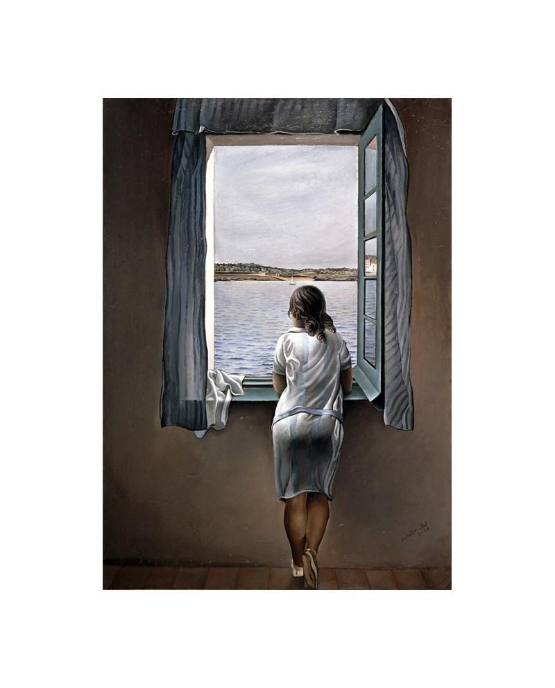 Salvador Dali La muchacha de la ventana Reproduccion Surrealismo Sa...