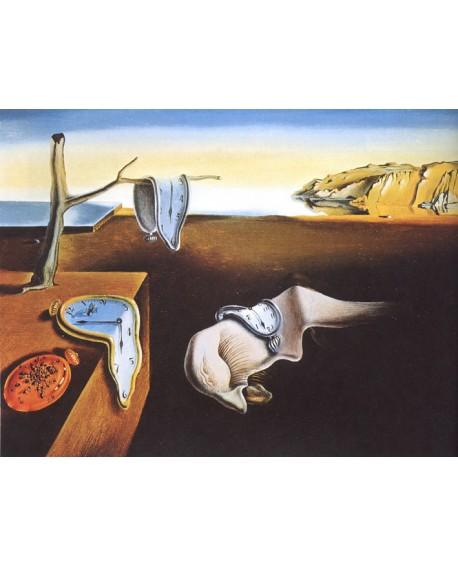 Salvador Dali La Persistencia de la memoria Reproduccion Surrealista Home