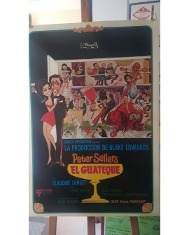 CARTEL ORIGINAL EL GUATEQUE 1ª EDICION 1968 LAMINA AFICHE PETER SELLERS Home