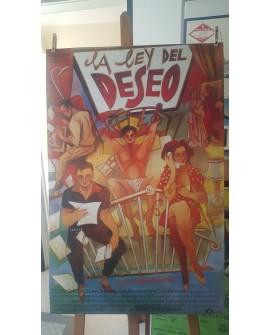 CARTEL ALMODOVAR LA LEY DEL DESEO, LAMINA AFICHE ORIGINAL COLECCIONISTA Home