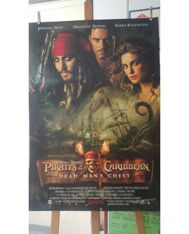 CARTEL, PIRATAS DEL CARIBE, DEAD MANS CHEST, LAMINA AFICHE ORIGINAL Home