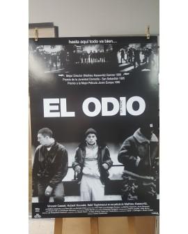 CARTEL DE CINE, EL ODIO, 1995, LAMINA AFICHE ORIGINAL CINE FRANCES COLECCIONISMO Home