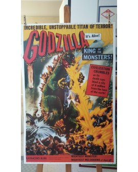 CARTEL, GODZILLA, KING OF THE MONSTERS, LAMINA AFICHE ORIGINAL VINTAGE Home