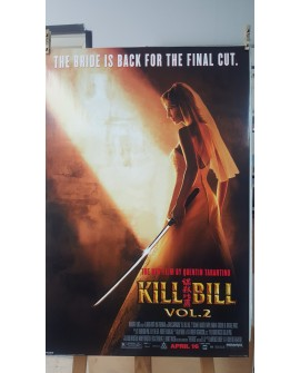 CARTEL, KILL BILL VOL 2, THE BRIDE IS BACK FOR THE FINAL CUT, LAMINA AFICHE Home