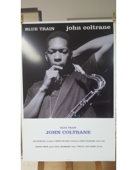 CARTEL, BLUE TRAIN, JOHN COLTRANE, LAMINA AFICHE ORIGINAL VINTAGE Home