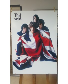 CARTEL, THE WHO, LAMINA AFICHE ORIGINAL MUSICA MOD ROCK UK INGLES Home