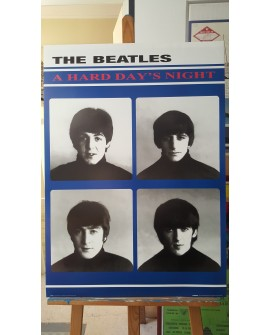 CARTEL, THE BEATLES, A HARD DAY'S NIGHT, LAMINA AFICHE ORIGINAL Home