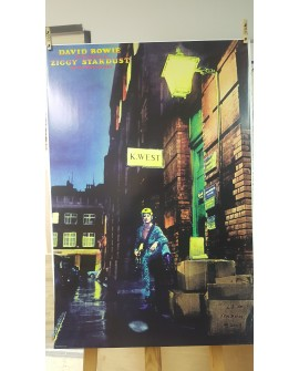 CARTEL, DAVID BOWIE, ZIGGY STARDUST - LAMINA AFICHE ORIGINAL Home