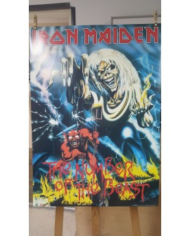 CARTEL, IRON MAIDEN, THE NUMBER OF THE BEAST, LAMINA AFICHE ORIGINAL Home