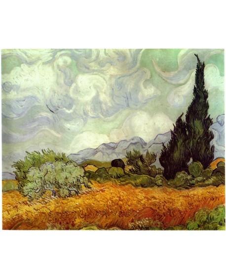 Van Gogh El cipres Paisaje Impresionista Reproduccion Giclee Home