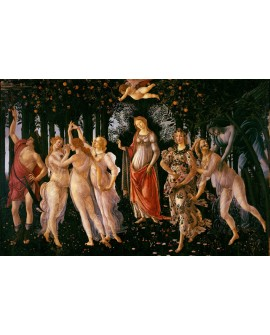Botticelli Las tres Gracias Cuadro clasico del Renacimiento. Reproduccion Home