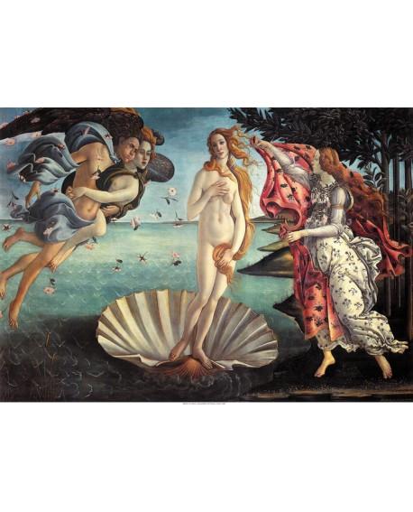 Botticelli El nacimiento de Venus Cuadro clasico Renacimiento. Home