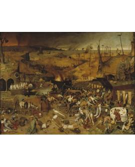 Brueguel El triunfo de la muerte Pintura clasica reproduccion
