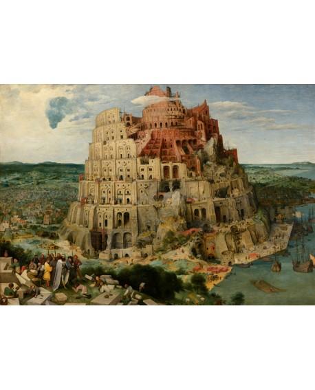 Brueguel La Torre de Babel Pintura clasica flamenca reproduccion Home