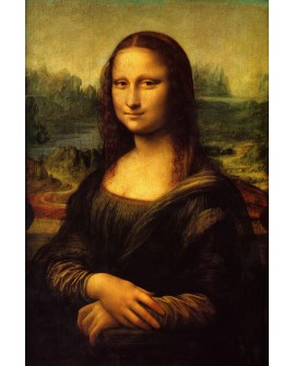 La Mona Lisa Gioconda Leonardo da Vinci Mural Renacimiento