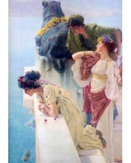 Alma Tadema Una posicion privilegiada Tartesos Clasico Romantico Home
