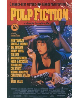 Cartel Cine Pulp Fiction Cartel grande de Tarantino Vintage Home