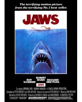 Tiburon Jaws cartel de cine clasico 70s Steven Spielberg Vintage Home