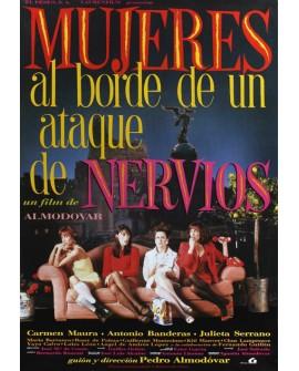 Mujeres al borde de un ataque de nervios Cartel Pedro Almodovar Home