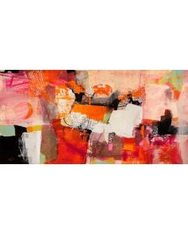 ARTHUR PIMA Colores del verano Cuadro Abstracto Grande en mural