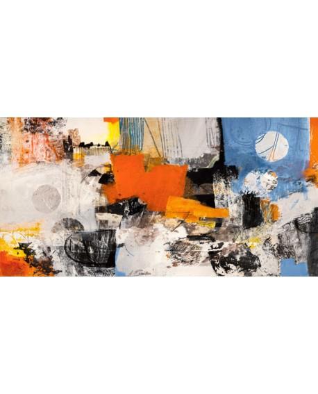 ARTHUR PIMA YOUTH cuadro abstracto mural gigante en Pintura Giclee Cuadros Horizontales