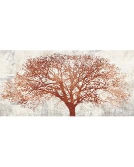 ALESSIO APRILE TREE OF BRONZE ARBOL OTOÑO ABSTRACTO PINTURA GICLEE Cuadros Horizontales