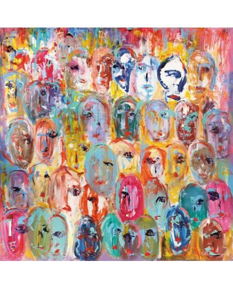Facebook de ITALO CORRADO abstracto cuadrado en pintura giclee Home
