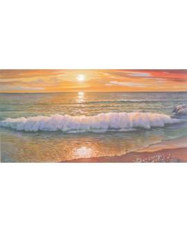 Adriano Galasso LA OLA DE LA ORILLA paisaje mural marina Reproduccion Cuadros Horizontales