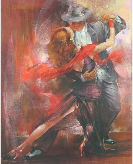 tango argentino pintura giclee baile danza pareja reproduccion Home