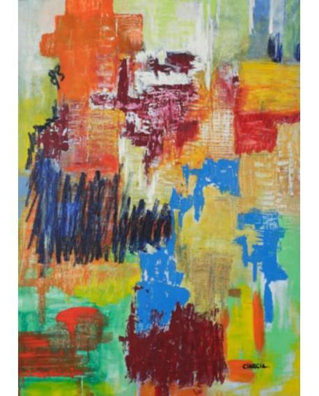 """LUCIA CIARCIA Cuadro Original \\""""MOMENTOS\\"""" Oleo Acrilico en lienzo 140x100 cm Home"""